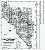 Canyon County 1980 to 1996 Mylar, Canyon County 1980 to 1996